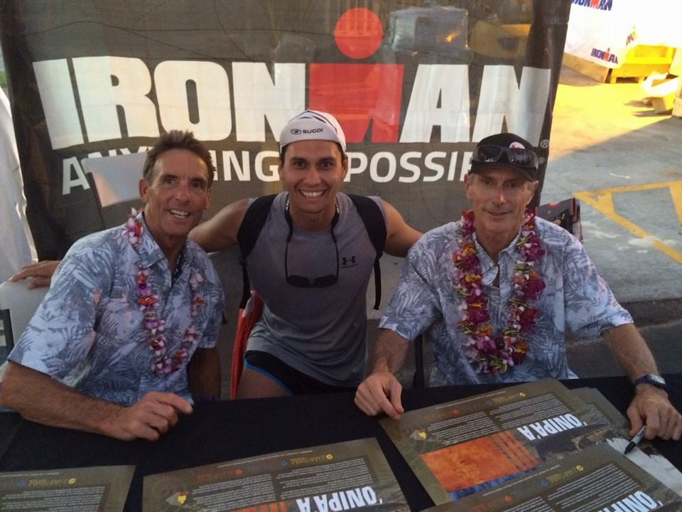 The 2 true legends of Kona Mark Allen and Dave Scott.